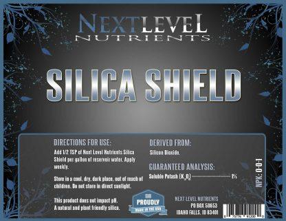 NLN-Silica-Shield-Label